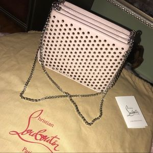 Christian Louboutin Spike Chain Purse Bag